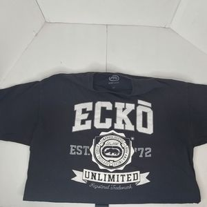Ecko Unlimited Men's Black T-shirt size 2XL
